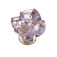 Pink Amethyst Cocktail Ring, Marios Schwab Collection
