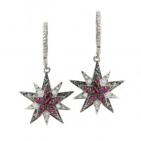 Centaurus Earrings, Stars Collection