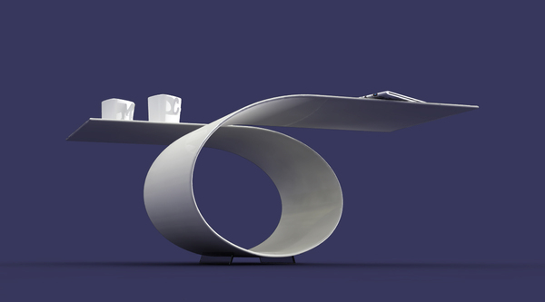 'Loop' Coffee Table, by Baita Design