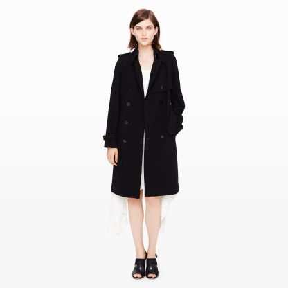 Dorian Leather- Back Trench $639