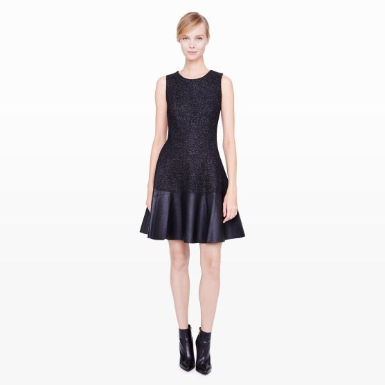 Clodia Leather Dress $369