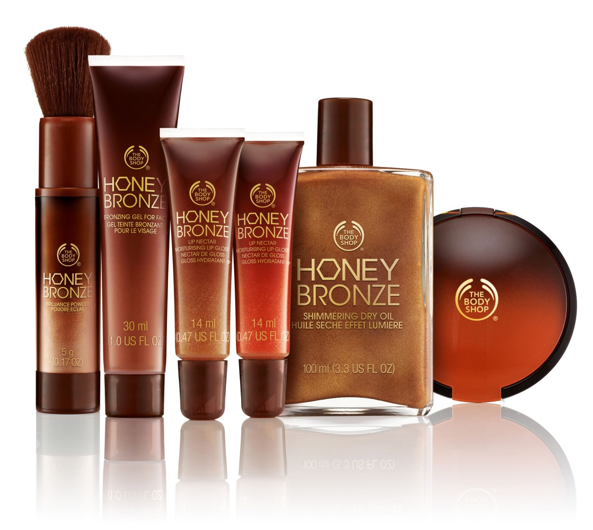 Need to try > Body Shop Honey Bronze (& new eyeliner) Range