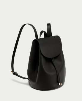 BACKPACK WITH FOLDOVER FLAP - 19,95€